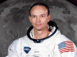 L'astronauta Michael Collins