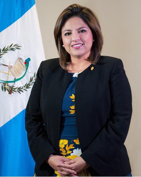 Il ministro degli Esteri del Guatemala, Sandra Erica Jovel Polanco
