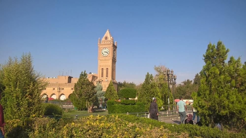 Torre dell'Orologio a Erbil