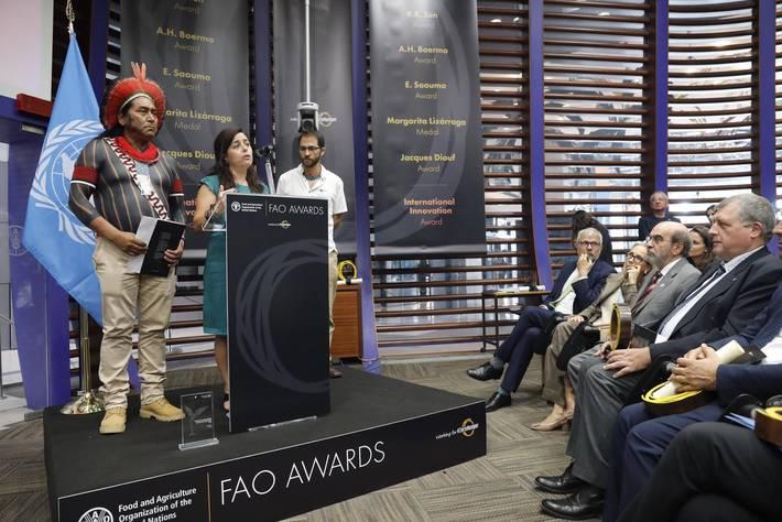 I premi della FAO riconoscono gli eccezionali contributi alla sicurezza alimentare globale, alla nutrizione e all'agricoltura sostenibile.