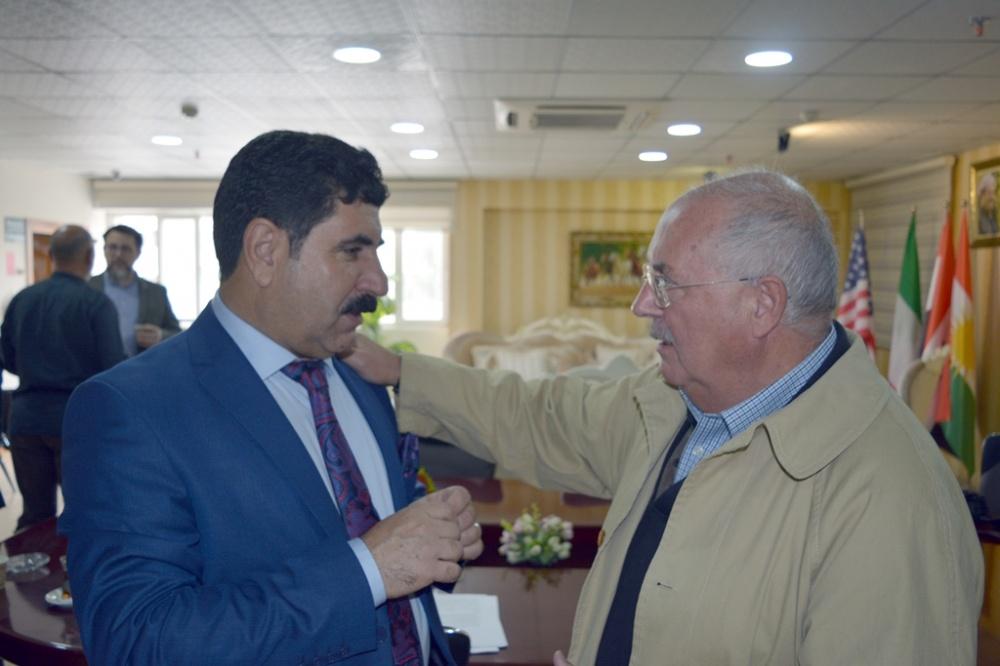 Abdullah Khorsheed Qadir ed Alessandro Bianchi, archeologo