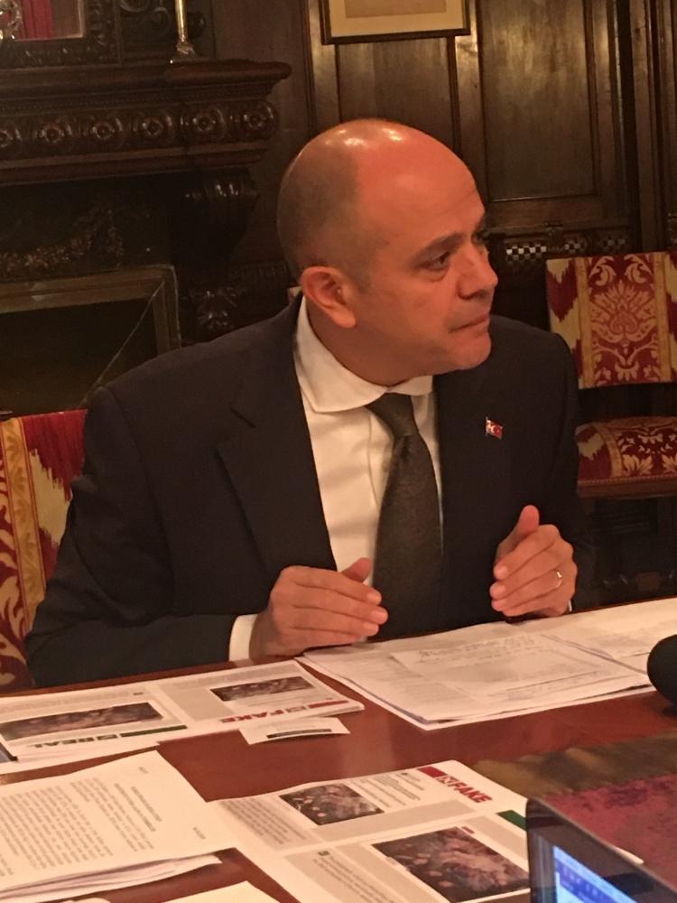 Murat Salim Esenli, ambasciatore di Turchia in Italia