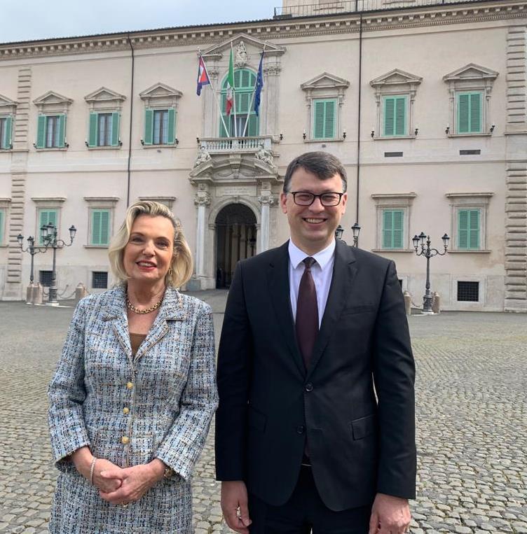 Gli ambasciatori di Polonia e Lituania