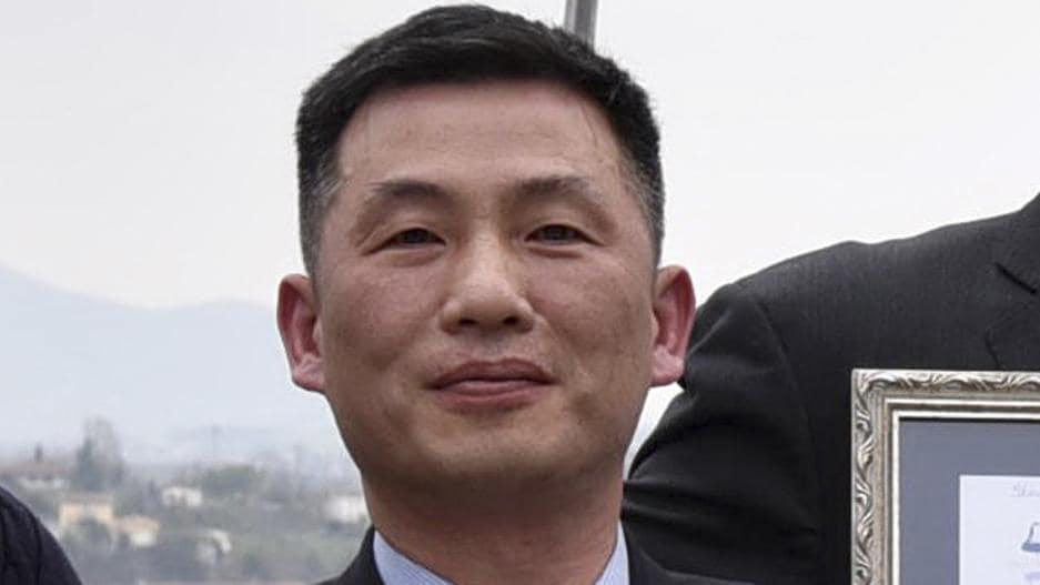 Il diplomatico Jo Song-gil della Corea del Nord