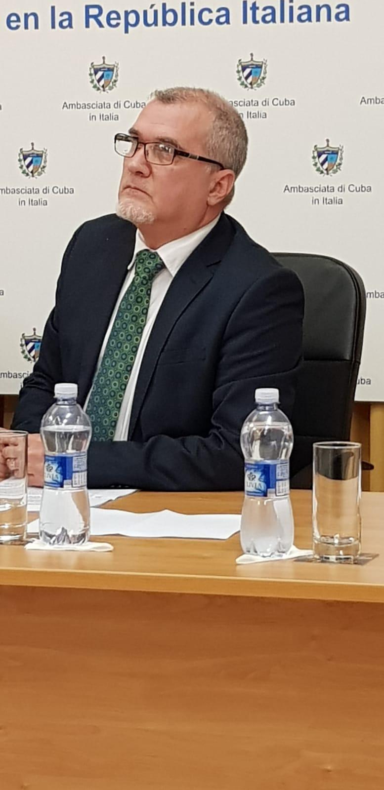 L'Amb. José Carlos Rodrìguez Ruiz