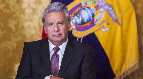 Il presidente dell'Ecuador Lenìn Moreno Garcés
