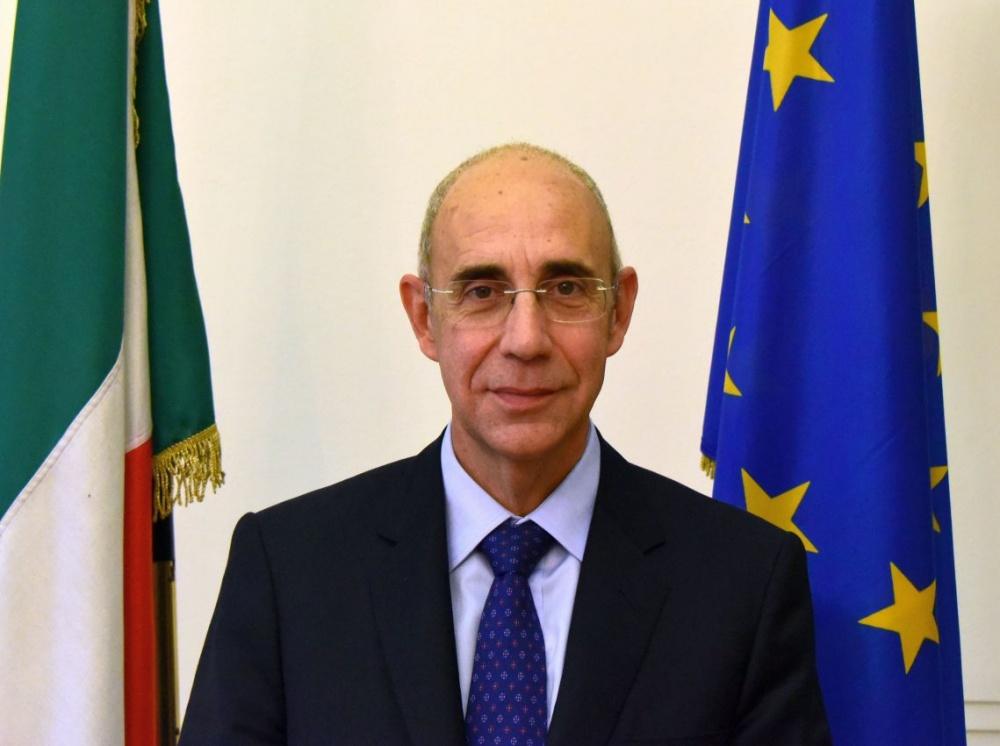 L'ambasciatore italiano a Berlino Luigi Mattiolo