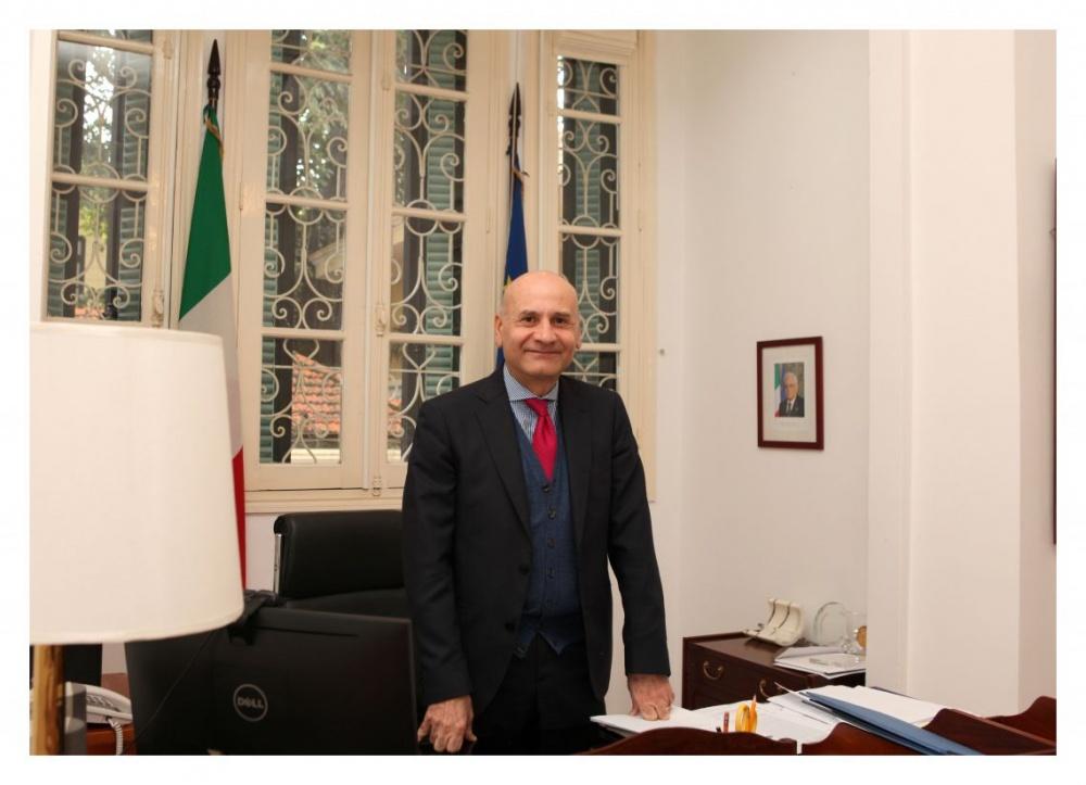 L'amb. Antonio Alessandro