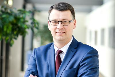 L'ambasciatore di Lituania, Ričardas Slepavičius
