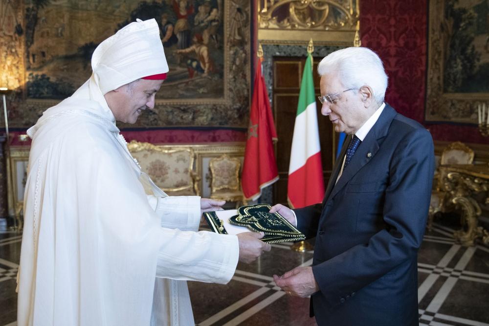 Il neo ambasciatore Youseff Balla, Regno del Marocco