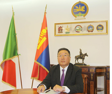 Amb Mongolia Jambaldorj Tserendorj