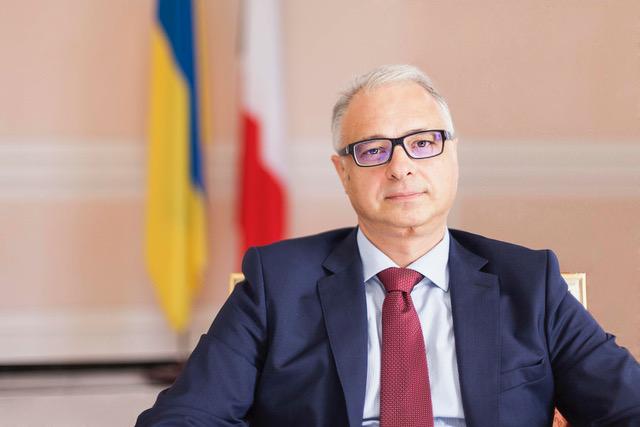 L'ambasciatore di Ucraina a Roma, Evhen Perelygin