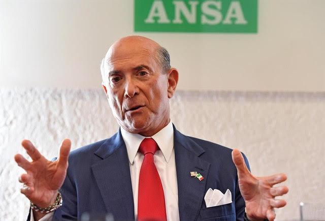 L'ambasciatore degli Stati Uniti d'America in Italia, Lewis Michael Eisenberg
