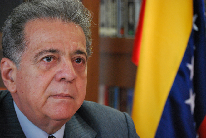 L'Ambasciatore Isaías Rodríguez