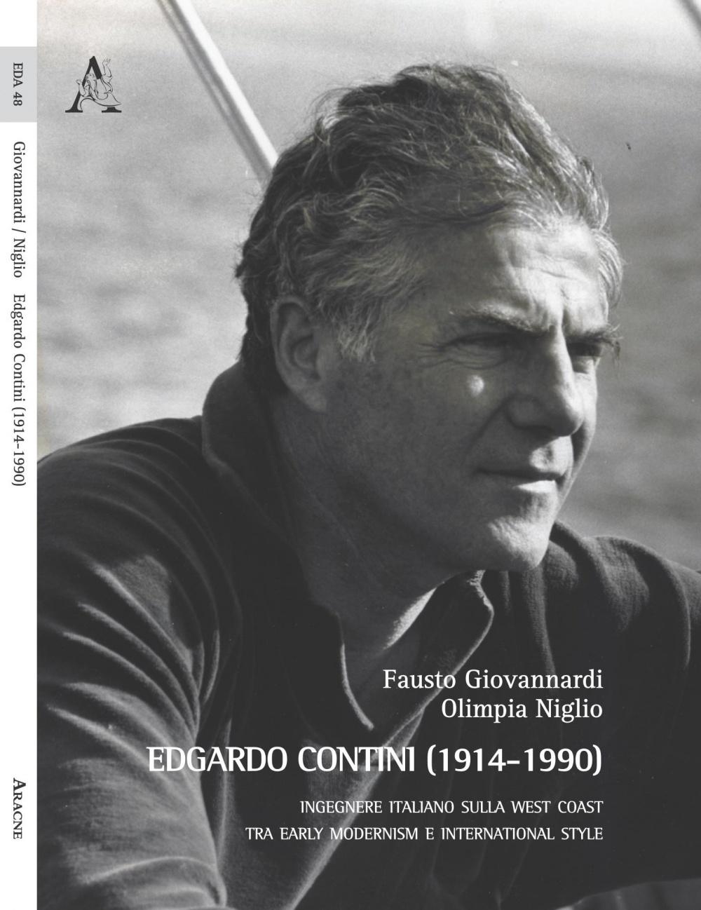 La copertina del libro dedicato all'ing. Edgardo Contini