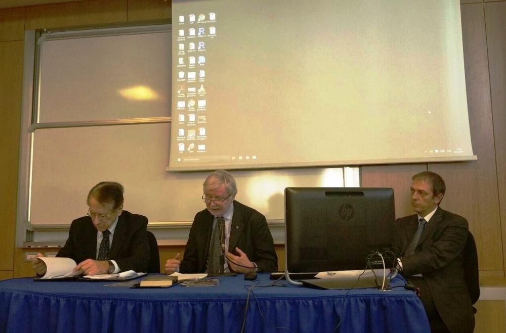 da sin.: amb. Terzi, on. Tuomioja, Marchetti (foto G. Nitti)