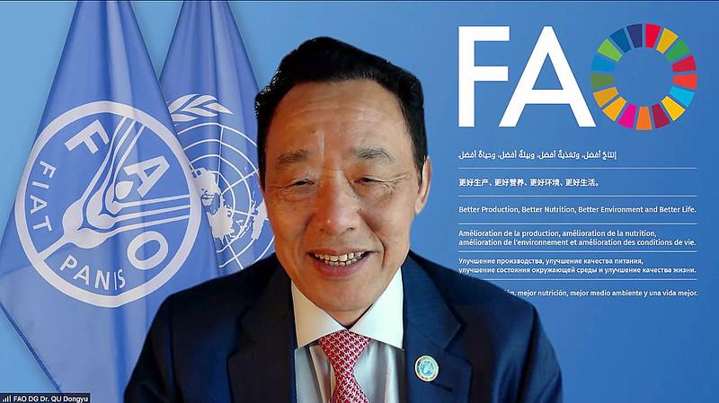 FAO Direttore Generale Qu Dongyu