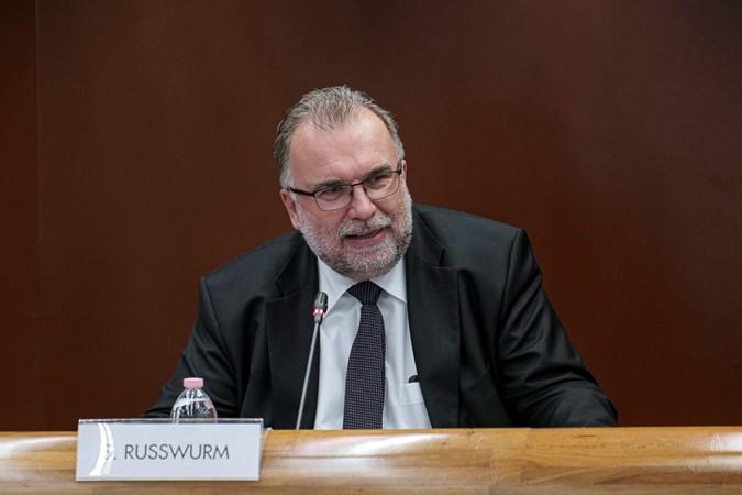 Il presidente Siegfried Russwurm