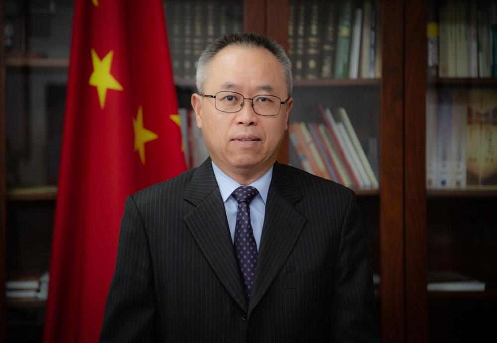 L'amb. Li Junhua, rappresentante diplomatico della Repubblica Popolare Cinese in Italia