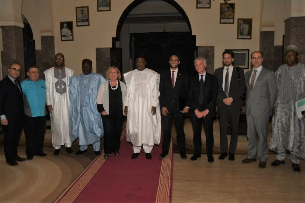 Visita in Niger del Viceministro Del Re