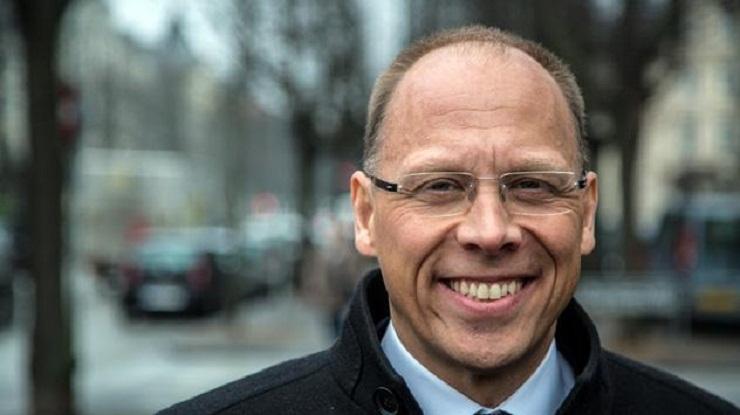 Frank Vang-Jensen, nuovo Presidente e CEO del gruppo Nordea nominato il 5 9 2019, foto Nordea