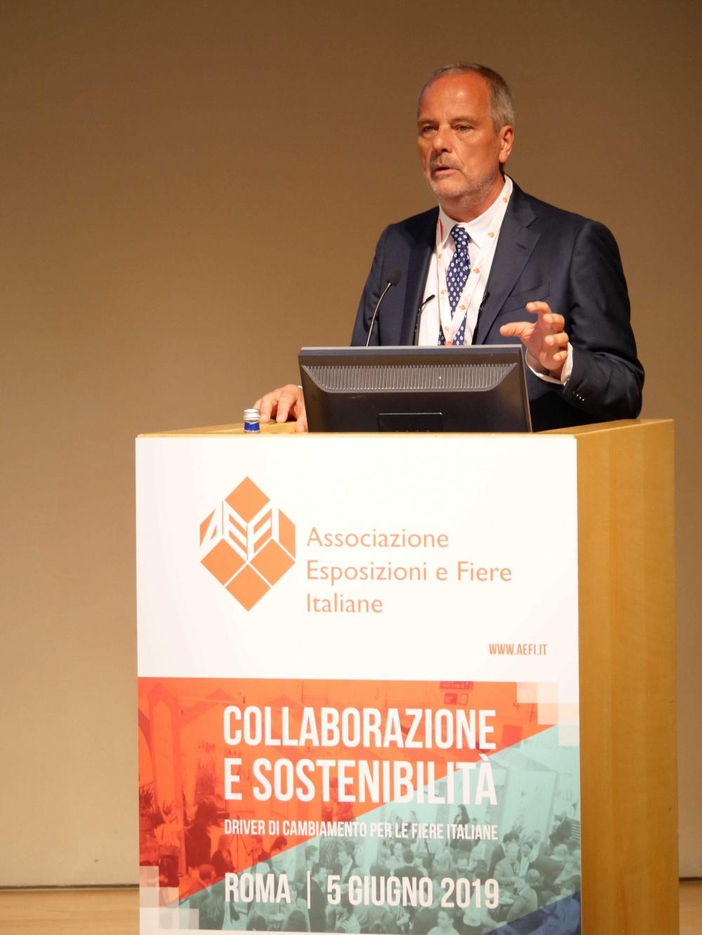 Giovanni Laezza, presidente di AEFI
