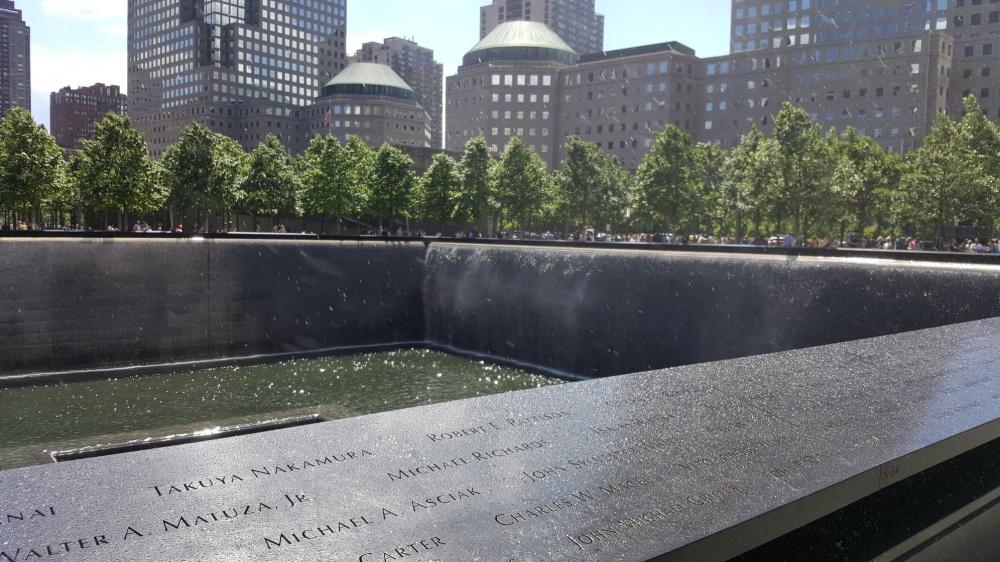 Il memorial a Ground Zero
