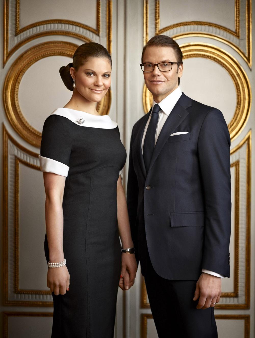 Principessa Ereditaria Victoria di Svezia e il Principe Daniel