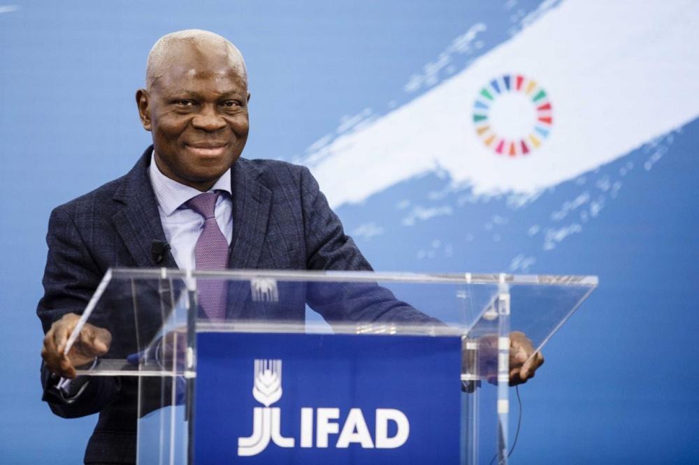 Gilbert F. Houngbo riconfermato presidente di IFAD