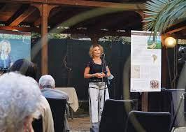Antonella Cavalli alla presentazione del libro sul Gran Chaco