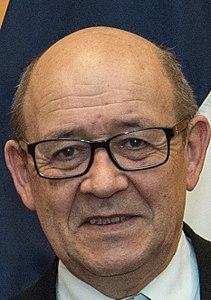 Il ministro dell'Europa e degli Affari Esteri di Francia, Jean-Yves Le Drian