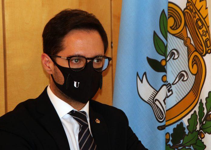 Il segretario di Stato all'Industria, Fabio Righi