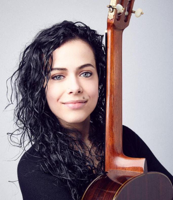 La chitarrista Renata Arlotti