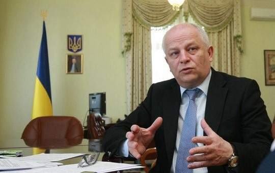 Stepan Kubiv , vicepresidente Consiglio dei Ministri e ministro Sviluppo Economico di Ucraina