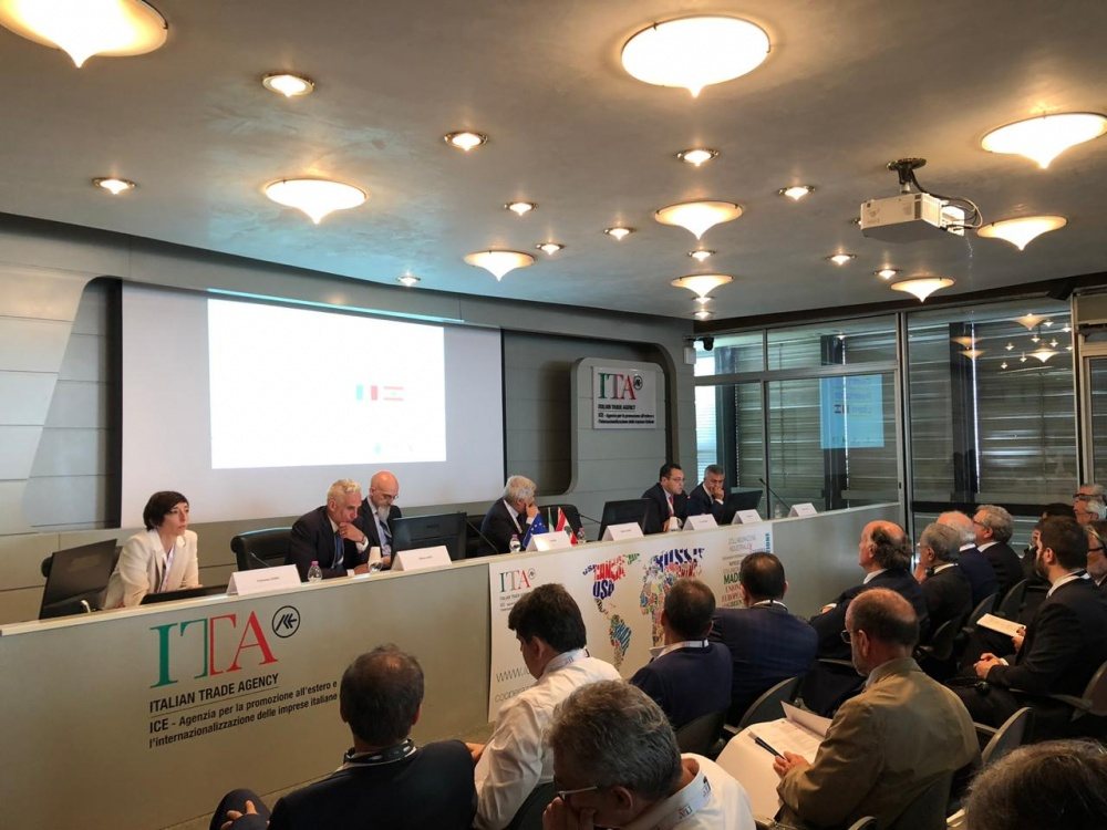 Le foto sono state fornite dall'Ambasciat d'Italia in Libano