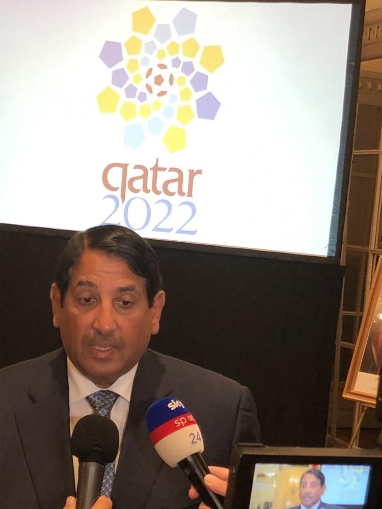 L'ambasciatore del Qatar in Italia, Abdulaziz Ahmed Al Malki Al Jehani