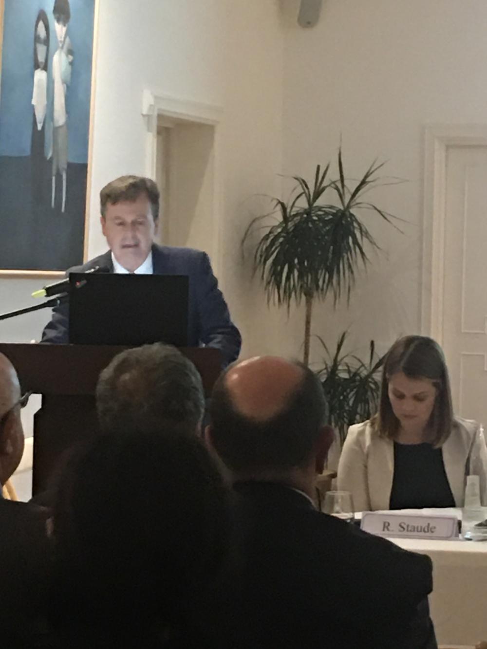 Greg French, ambasciatore dell'Australia in Italia