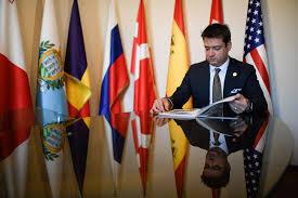 Paolo Giordani, presidente dell'Istituto Diplomatico Internazionale