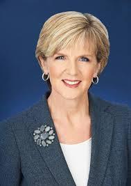 Il ministro degli Esteri australianio, Julie Bishop
