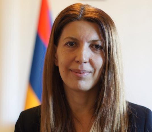Tsovinar Hambardzumyan, ambasciatore della Repubblica di Armenia in Italia