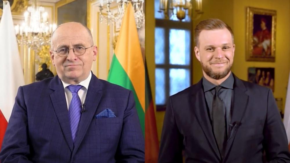 Ministri degli Esteri di Polonia e Lituania