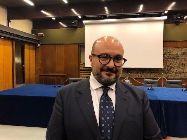 Il direttore del TG2 RAI, Gennao Sangiuliano