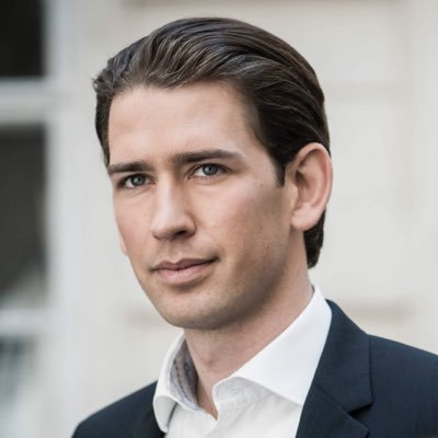 Sebastian Kurz Premier dell´Austria